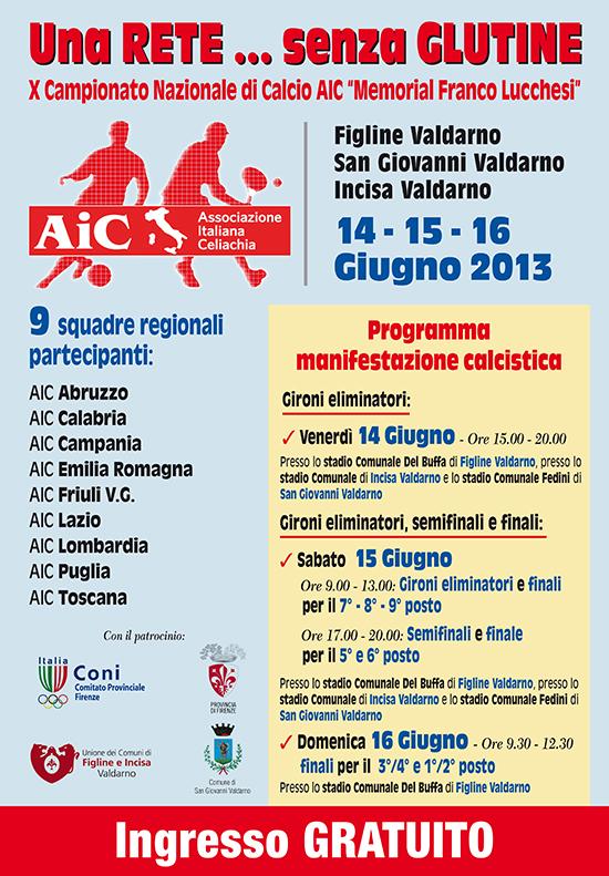Locandina torneo 2013